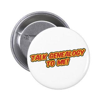 De Genealogie van de bespreking aan me Speld Button