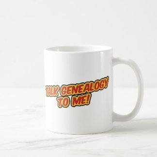 De Genealogie van de bespreking aan me! Koffie Bekers