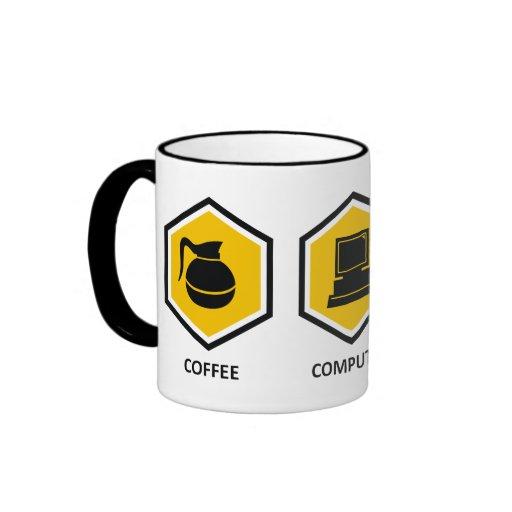 De Genealogie van de Computer van de koffie Koffie Mok