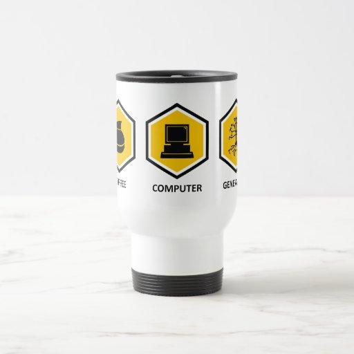 De Genealogie van de Computer van de koffie Koffie Bekers