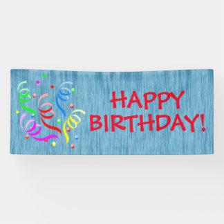De generische Gelukkige Banner van de Verjaardag