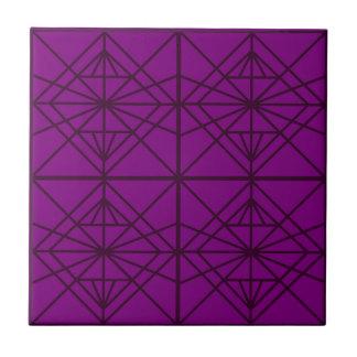 De Geometrische de luxeKunst van Marokko/uitgave Tegeltje