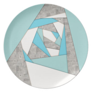 De geometrische Samenvatting van Vormen Melamine+bord