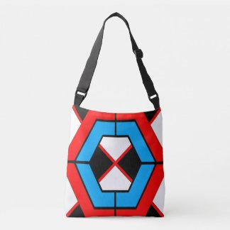 De geometrische Zak van Vormen Crossbody Tas
