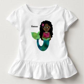 De gepersonaliseerde Afrikaanse Amerikaanse Folie Kinder Shirts