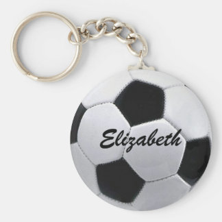 De gepersonaliseerde Bal Keychain van het Voetbal Sleutelhanger