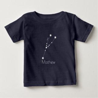 De gepersonaliseerde Constellatie van de Baby T Shirts