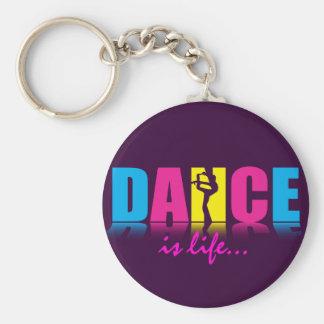 De gepersonaliseerde Danser van de Dans Sleutelhanger