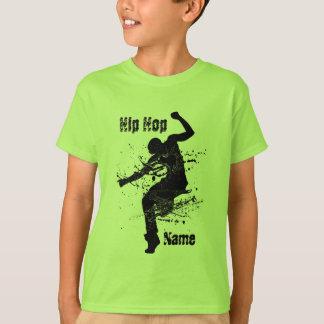 De gepersonaliseerde Danser van Hip Hop T Shirt