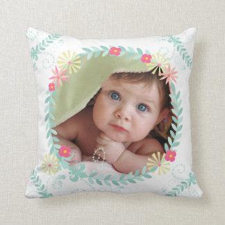 De gepersonaliseerde Foto van het Baby van de Sierkussen