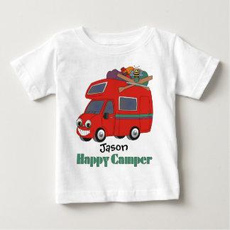 De gepersonaliseerde Gelukkige T-shirt van de
