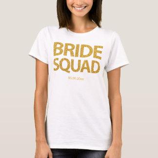 De gepersonaliseerde Gouden Lovertjes van de Ploeg T Shirt