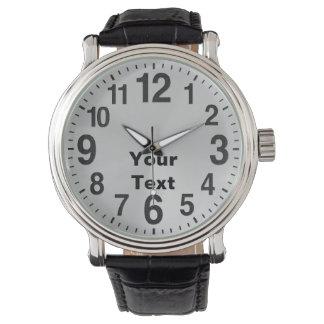 De gepersonaliseerde Grote Horloges van het Aantal