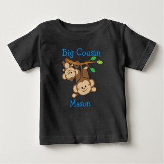 De gepersonaliseerde Grote Neef van de Apen van de Baby T Shirts