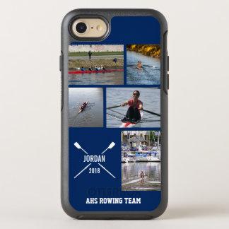 De gepersonaliseerde het Roeien van de Bemanning OtterBox Symmetry iPhone 7 Hoesje