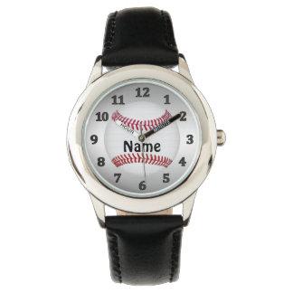De GEPERSONALISEERDE Horloges van het Honkbal voor