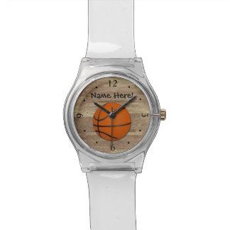 De gepersonaliseerde Houten Vloer van het Horloge