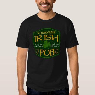 De gepersonaliseerde Ierse St Patrick van de Bar T Shirt