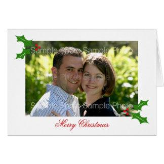De gepersonaliseerde Kerstkaarten van de Foto Kaart