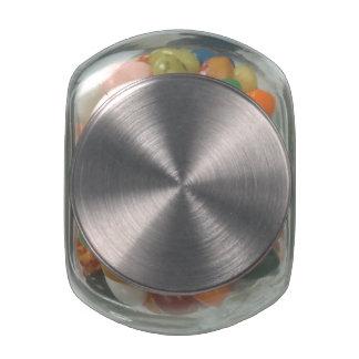De gepersonaliseerde Kruik van het Snoep van de Glazen Snoeppotjes