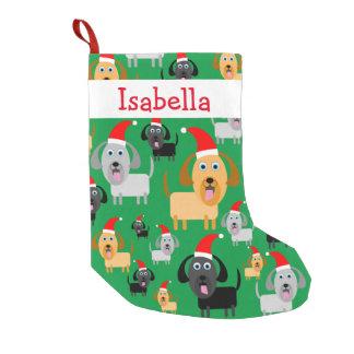 De gepersonaliseerde Leuke Honden van de Pret in Kleine Kerstsok