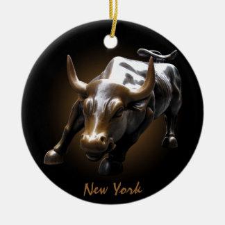 De Gepersonaliseerde New York Decoratie van New Yo Kerstboom Ornament