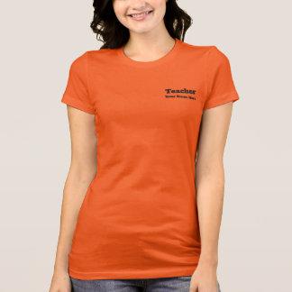 De gepersonaliseerde Oranje T-shirt van de Naam