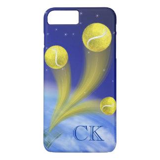 De gepersonaliseerde Overwinning van het tennis, iPhone 8/7 Plus Hoesje