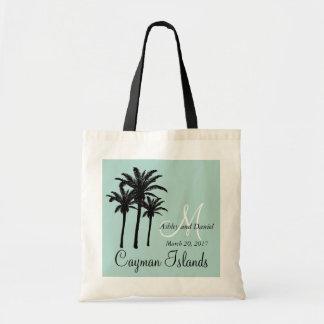 De gepersonaliseerde Palmen van het Canvas tas van