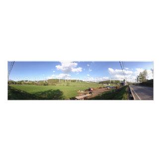 De gepersonaliseerde Panoramische Uitbreiding van Foto Afdruk