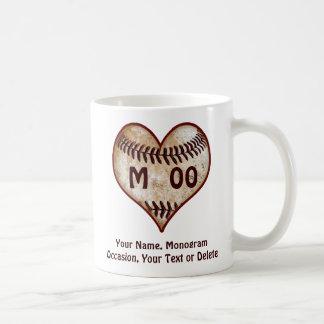 De gepersonaliseerde Speler van het Honkbal van de Koffiemok