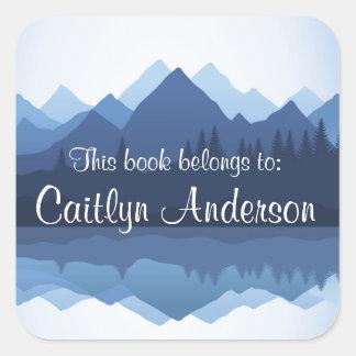 De gepersonaliseerde Sticker van Bookplate van