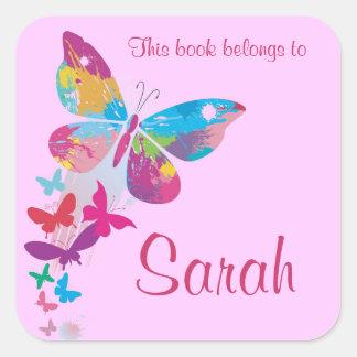 De gepersonaliseerde Sticker van Bookplate van de