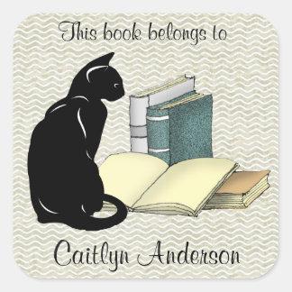 De gepersonaliseerde Sticker van de Kat en van