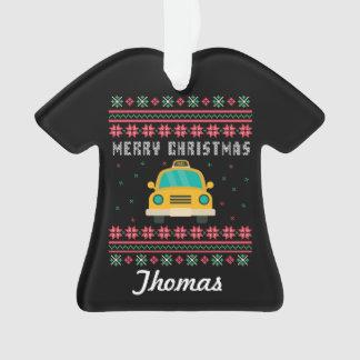 De gepersonaliseerde Sweater van Kerstmis van de Ornament