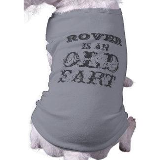 De gepersonaliseerde T-shirt van de Hond: Oude Far