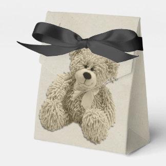 De gepersonaliseerde Teddybeer dankt u Baby shower Bedankdoosjes