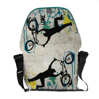 De gepersonaliseerde Zak van de Boodschapper van Courier Bag