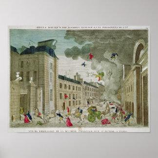 De geprobeerde Moord van Napoleon Bonaparte Poster