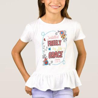 De gerechtvaardigde vrij T-shirt van Flouncy van