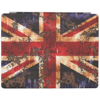 De geroeste Patriottische Vlag van het Verenigd iPad Cover