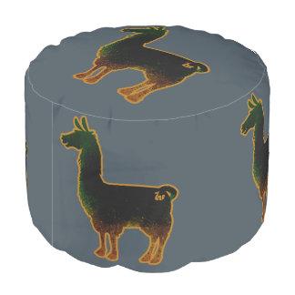 De geroeste Poef van de Lama