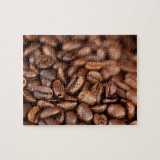 De geroosterde Bonen van de Koffie Puzzels