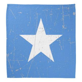 De geschaafde en Gekraste Vlag van Somalië Bandana