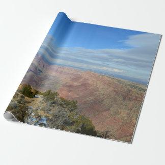 De geschilderde Grote Canion van de Woestijn Cadeaupapier
