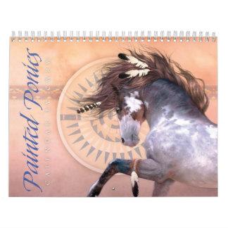 De geschilderde Kalender van Poneys