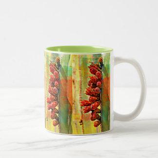 De geschilderde Mok van de Koffie van de Cactus