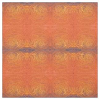 De geschilderde Oranje Stof van de Werveling