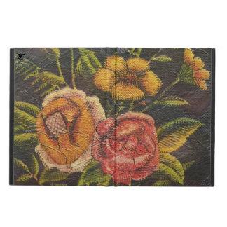 De geschilderde Vintage Bloemen namen toe