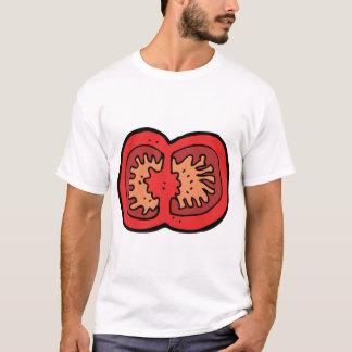 De gesneden Mannen T-shirt van de Tomaat